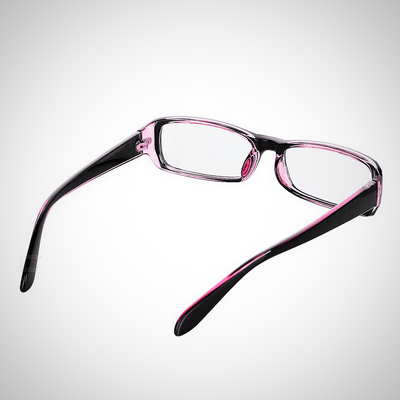 Radiation Protection Anti-Blue-Light Glasses - Black + Transparent Red - The Happy Tourist LTD