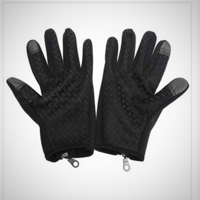 Touch Windproof Riding Outdoor Sports Full Finger Gloves