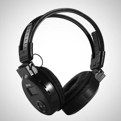 Sports Headphone Headset with Screen Design, Supports TF Card / FM - The Happy Tourist LTD
