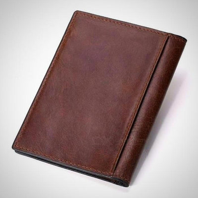 Genuine Leather Passport Wallet - The Happy Tourist LTD