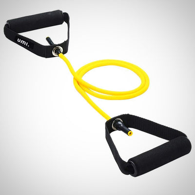 Single Resistance Band, Exercise Tube - With Door Anchor and Manual, - The Happy Tourist LTD