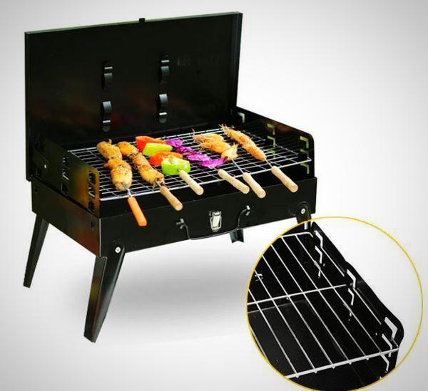 Portable Charcoal Barbecue BBQ Griller -Foldable
