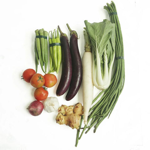 Sinigang Veggies Set for Fish (1 - 1.5 Kilos)