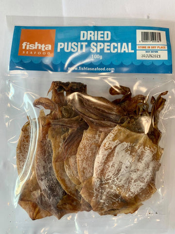 Dried Pusit Special (100g)