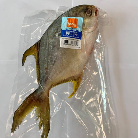 Pompano Premium Cleaned (550-600 Grams)