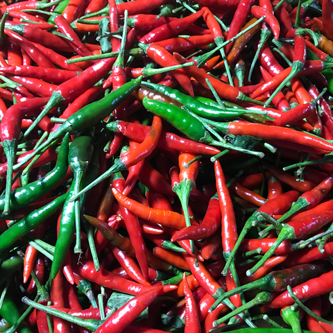Chili Red / Siling Taiwan Wholesale ( P195 x 5 Kilos) Sorted 1st Class