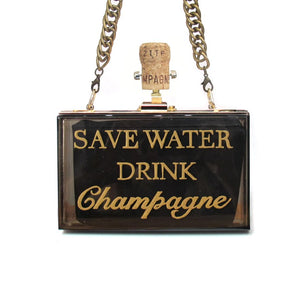 SAVE WATER Clutch
