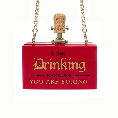 U-BORING Clutch | Red