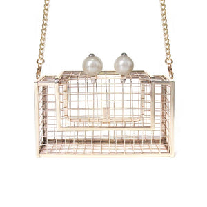 PEARL CAGE  Clutch | $345USD now 20% $276USD