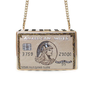 CREDIT CARD lCutch | Gold