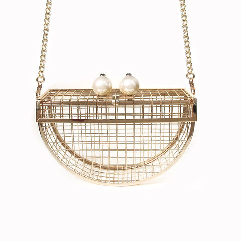 MOON CAGE  Clutch | $345USD