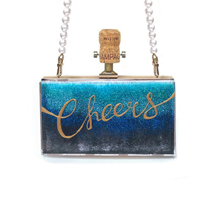 CHEERS Clutch | Blue