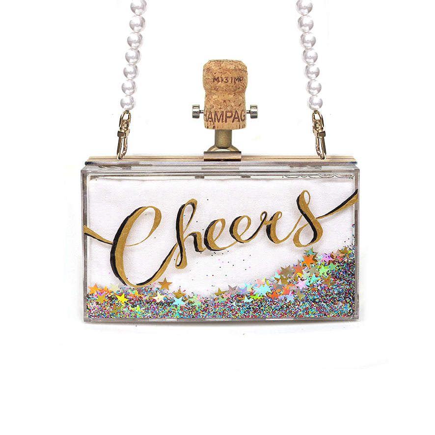 CHEERS Clutch | Gold