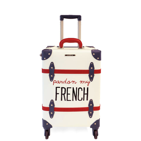 FRENCH | Suitcase | 20 inch | White