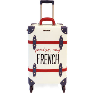FRENCH | Suitcase | 22 inch | White