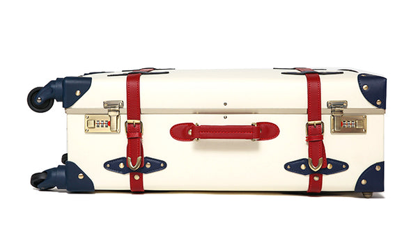 HEART | Suitcase | 22 inch | White