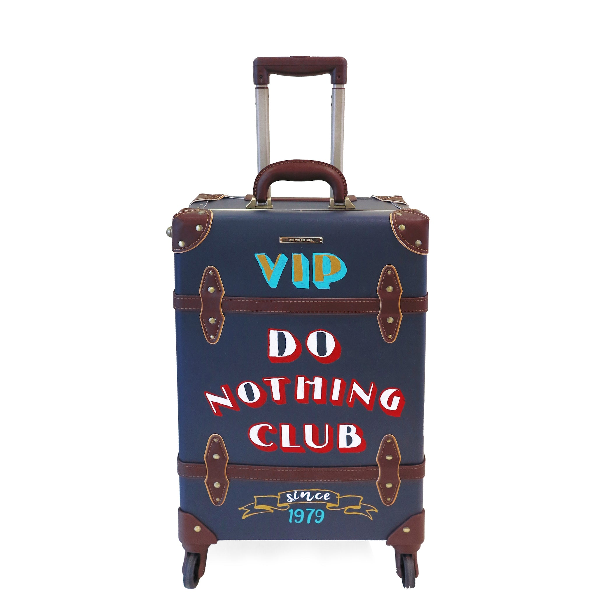 CLUB | Suitcase | 20 inch | Navy