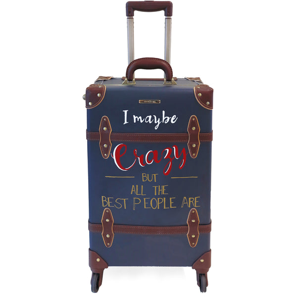 CRAZY | Suitcase | 22 inch | Navy