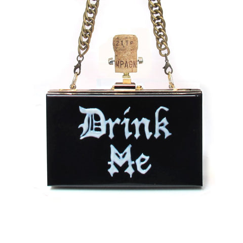 DRINK ME Clutch