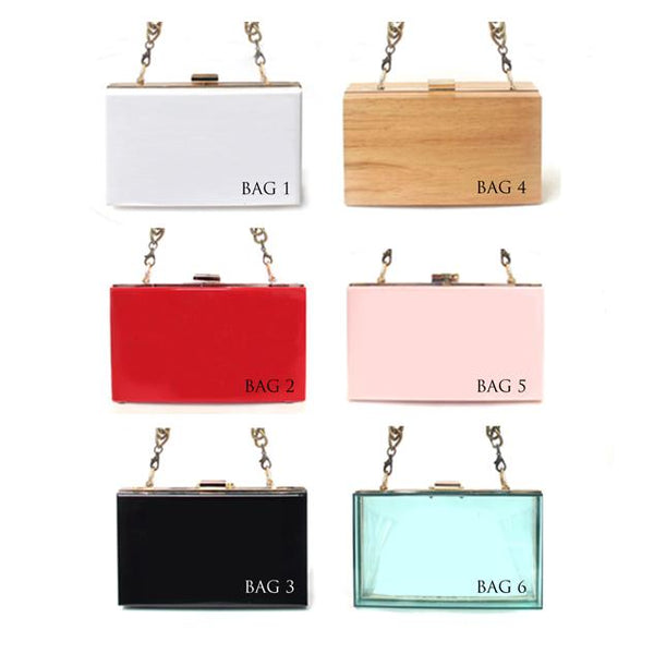 Your Name on Clutch Bag | with Pearl