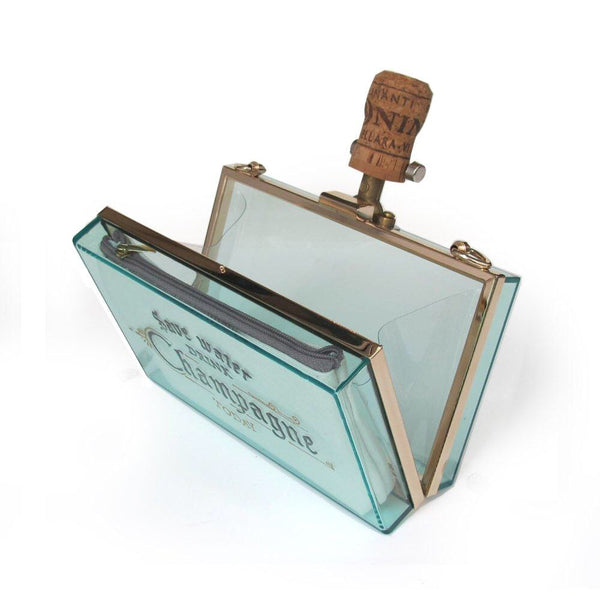 SAVE WATER Clutch | Green