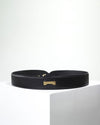black belt by Jenah St. in ecofriendly vegan leather affordable luxury