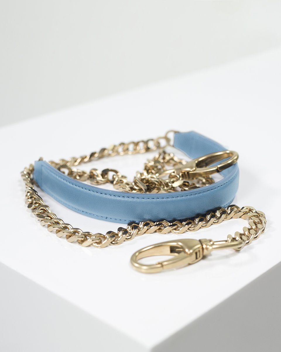 Pouch Chain Light Blue