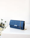 dark blue vegan wallet from Jenah St.