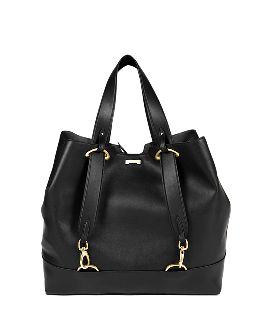Backpack Shopper Black