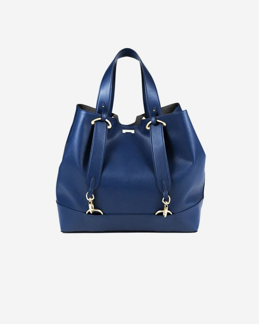 Dark blue ecofriendly vegan tote bag from Jenah St.