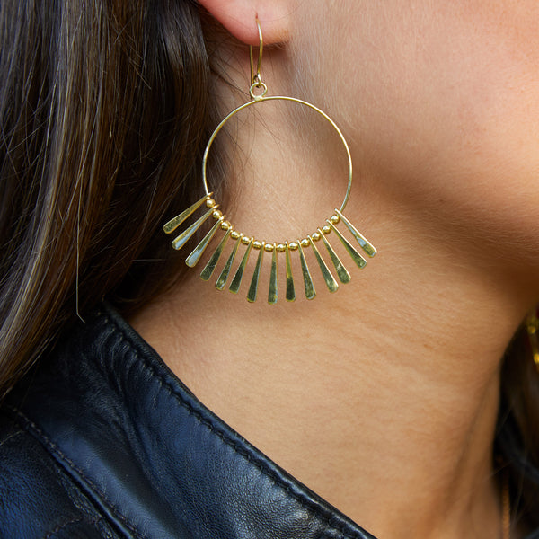 Punkahi Earring in Gold