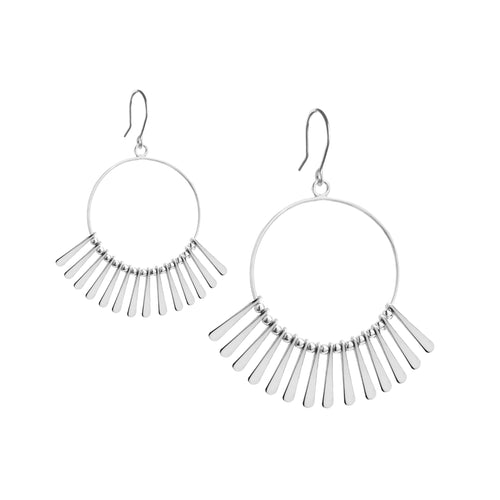 Punkahi Earring in Silver