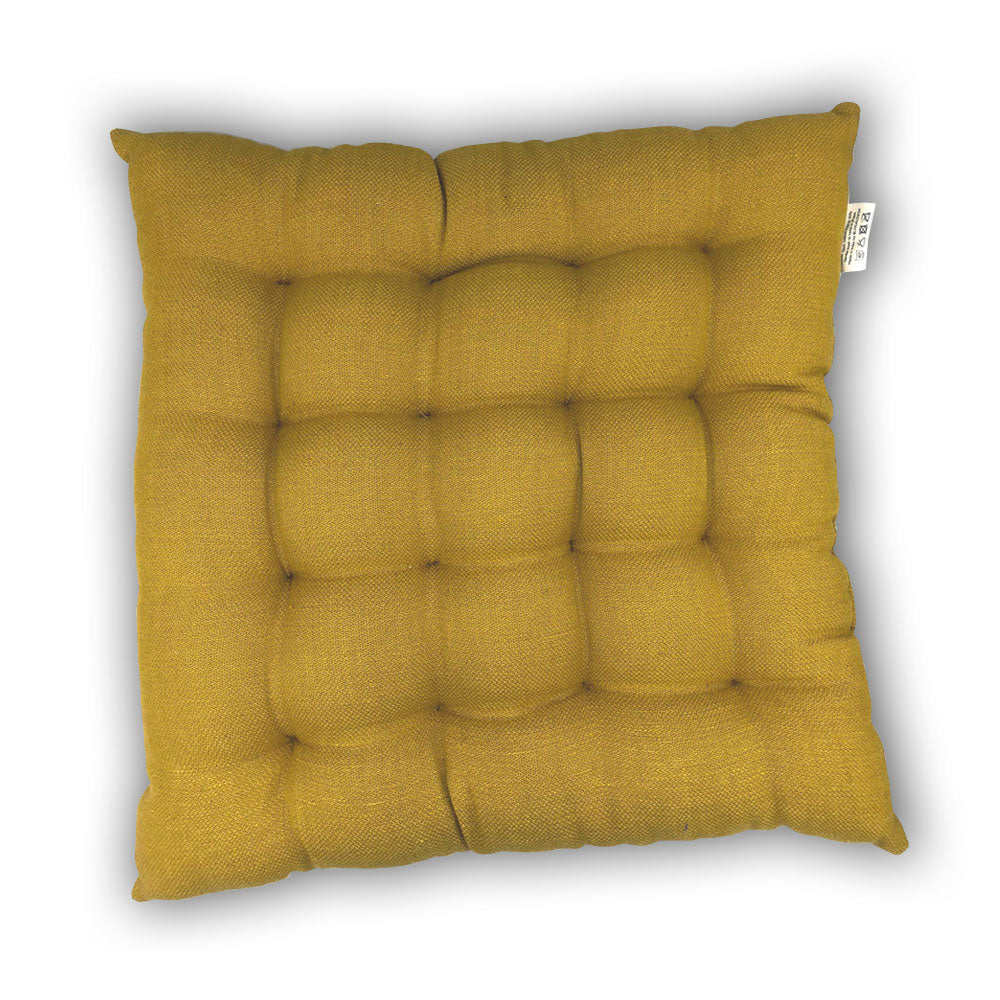 Seat Pads - Yellow - Clare Laughland at Home