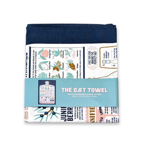Gin & Tonic lover's tea towel