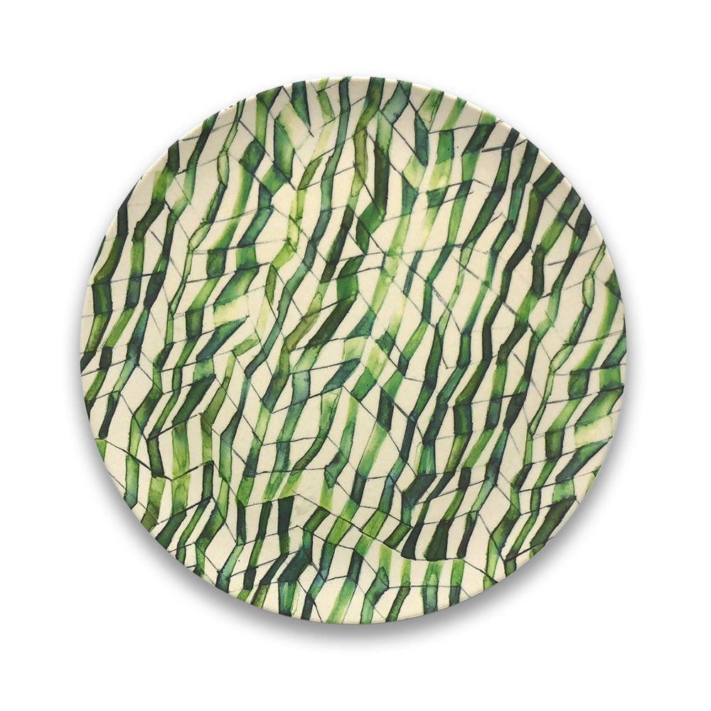 Bamboo Plate - Grass Stem - Clare Laughland at Home