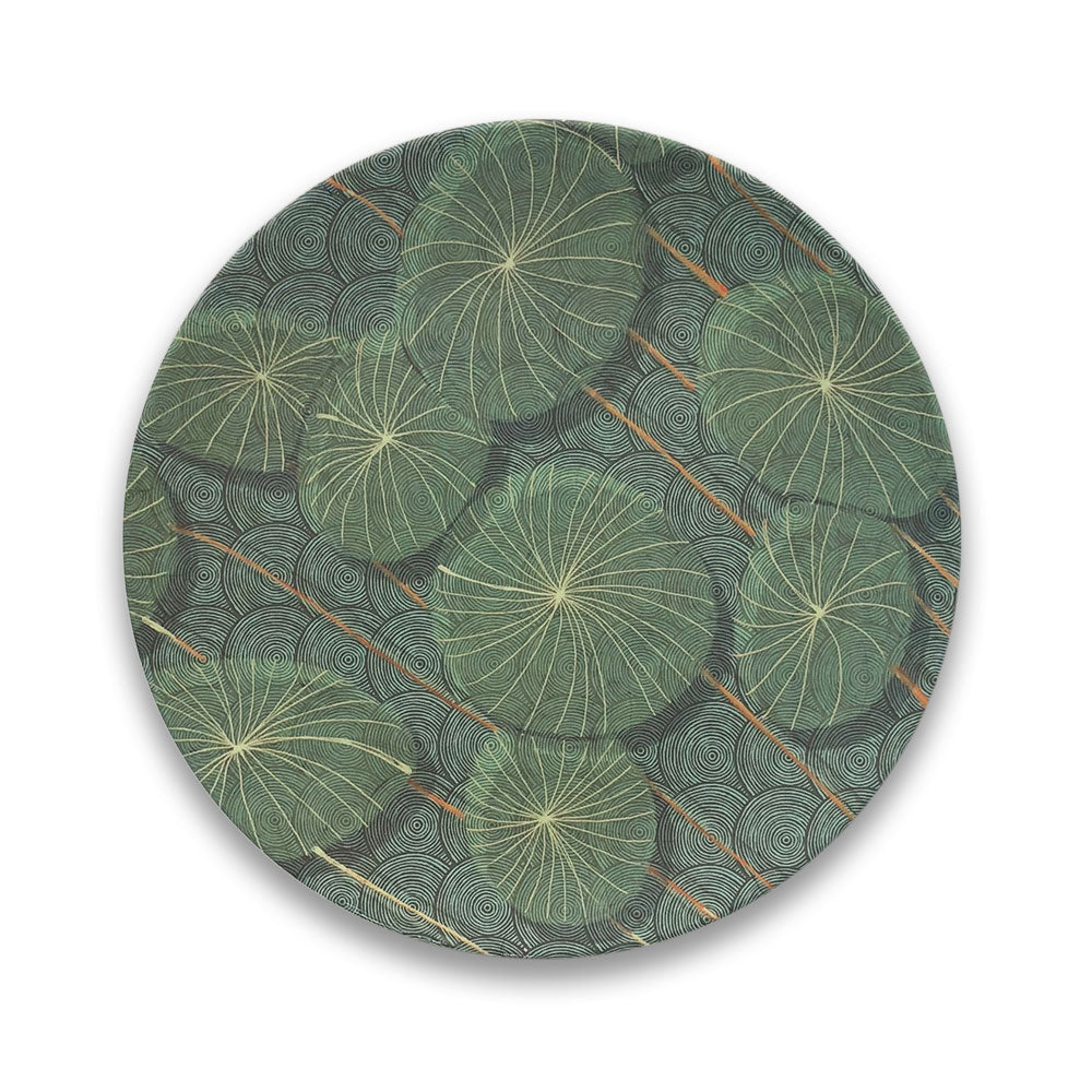 Bamboo Plate - Nymphaea - Clare Laughland at Home