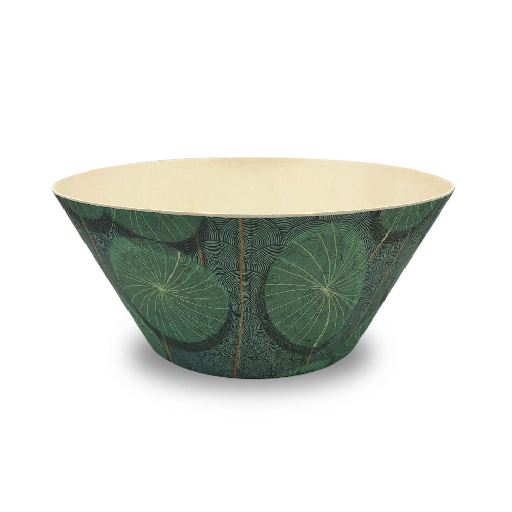 Bamboo Salad bowl - Nymphaea - Clare Laughland at Home