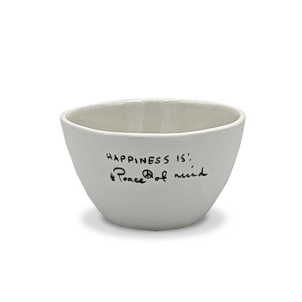 Bowl Historias - Happiness is Peace of Mind