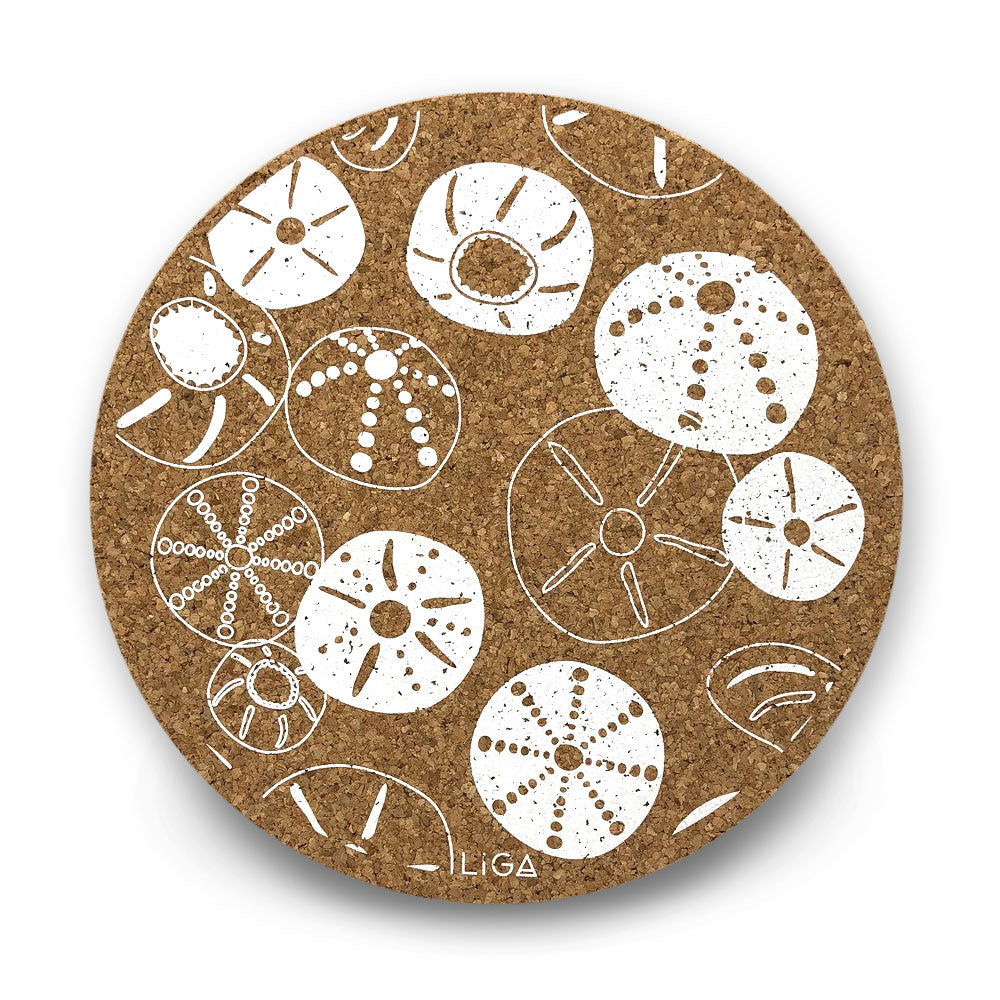 Cork placemats - Sea urchin - Clare Laughland at Home