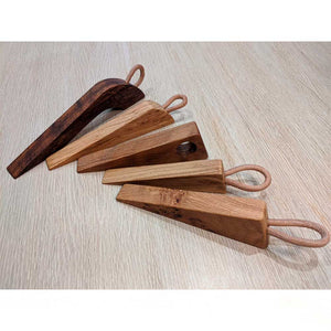 Wooden door wedges - Clare Laughland at Home