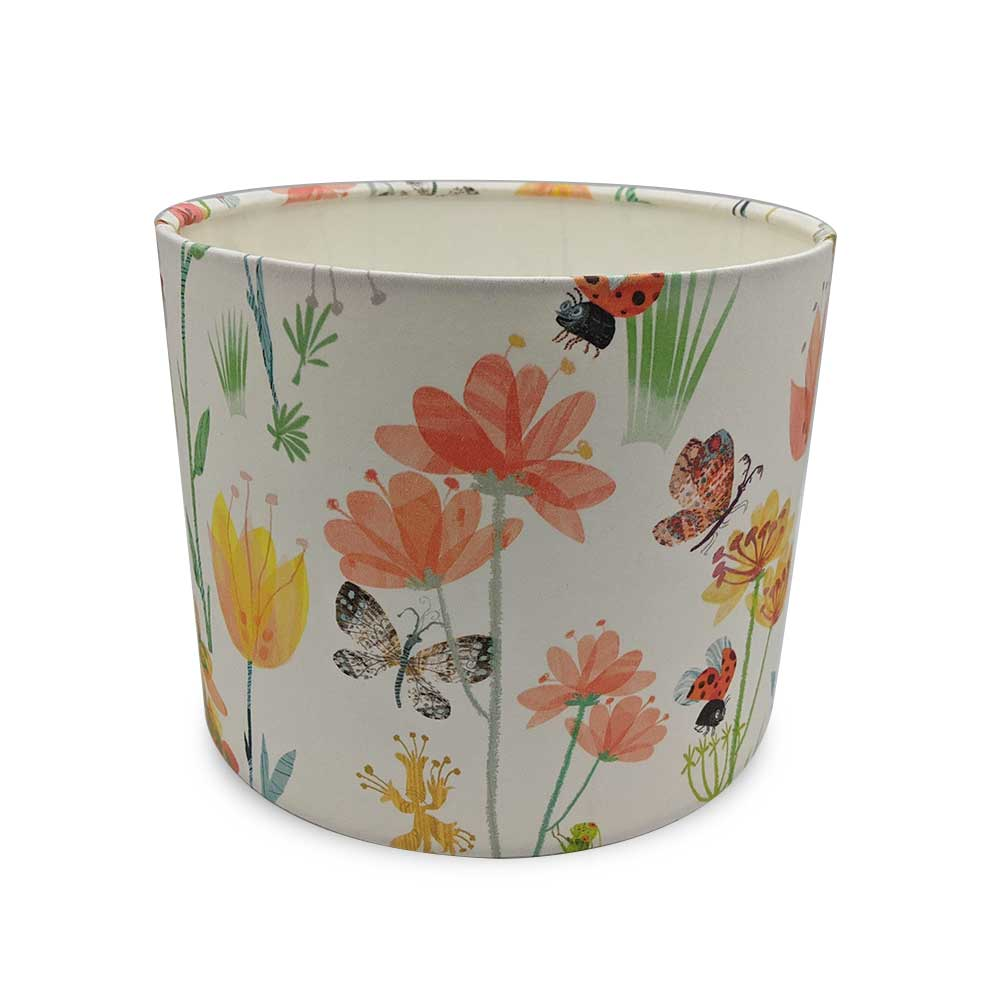 Lampshade - Busy Buzzy fabric by Villa Nova