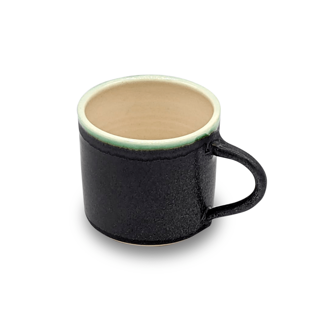 Petit crème mug, grey - Clare Laughland at Home