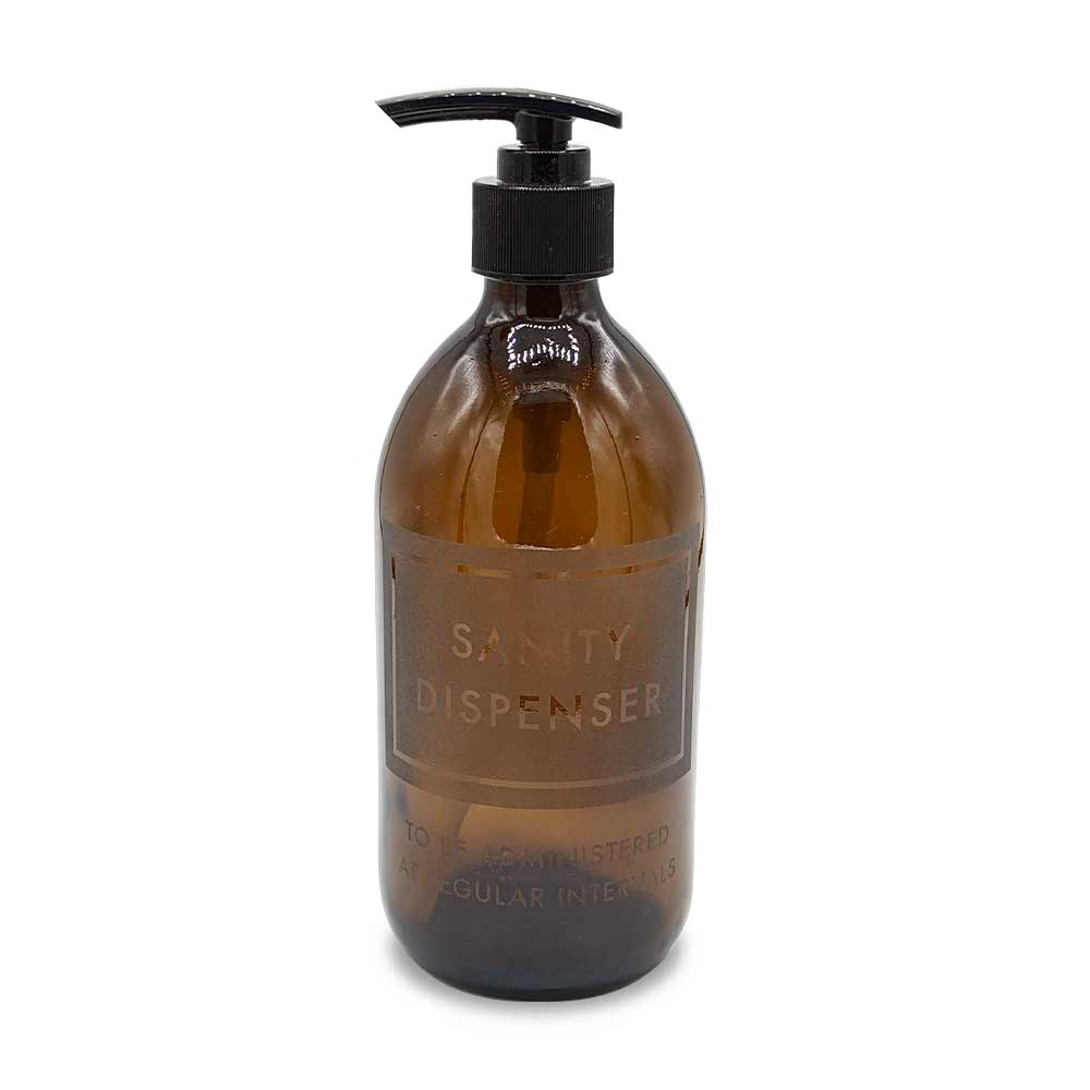 Etched Handwash Bottle - Sanity Dispenser