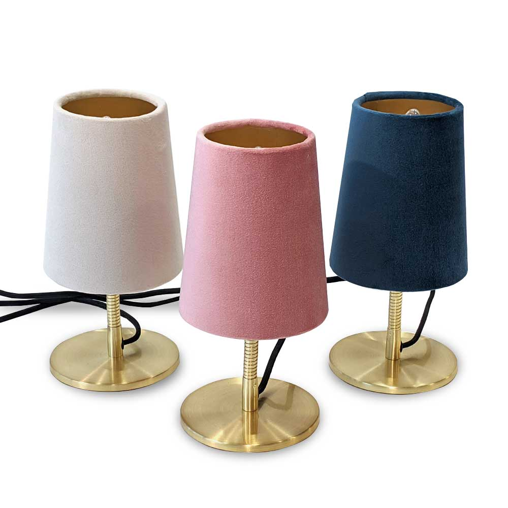 Tilting Lamp - Dusty pink