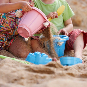 Green Toys - sand set pink