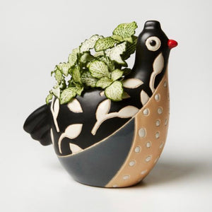 Jones & Co - Birdie Planter Black