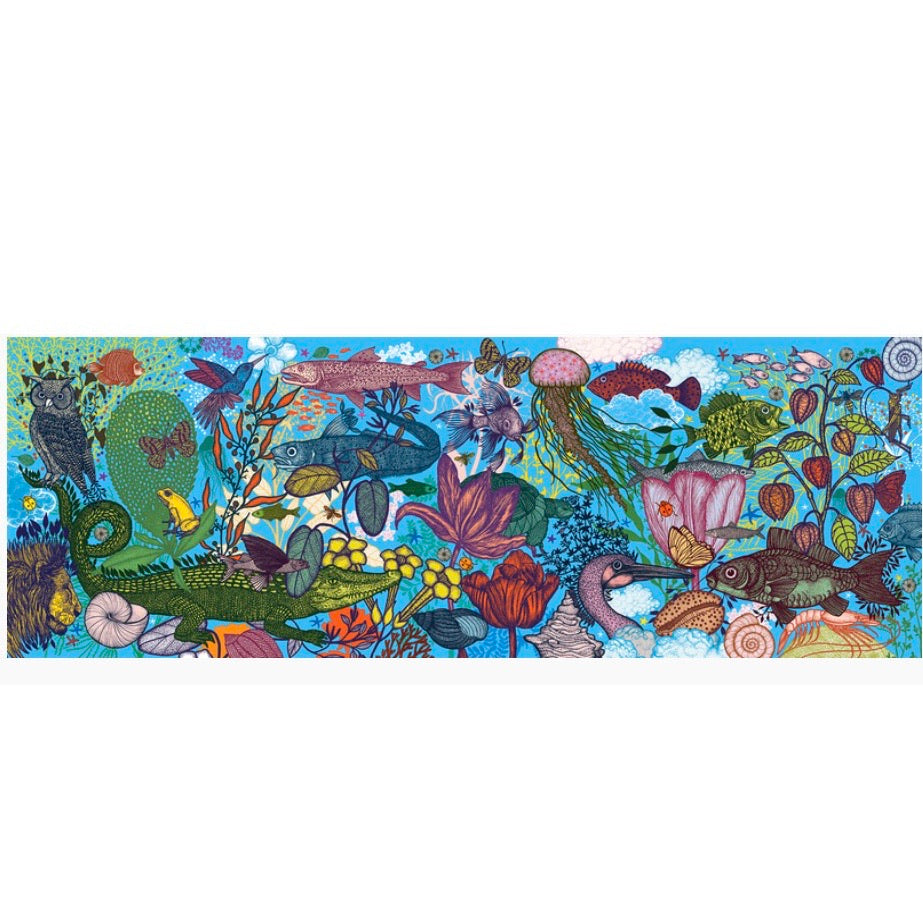 Djeco 1000 piece - Land and Sea