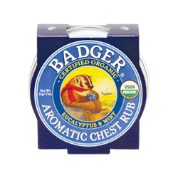 Badger Balm - Natural Aromatic Chest Rub
