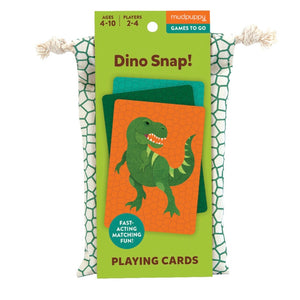Mudpuppy Card Game - Dino Snap