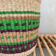 Kenyan Sisal Basket -  x small